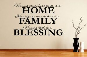 Quotes About Home And Family Living
