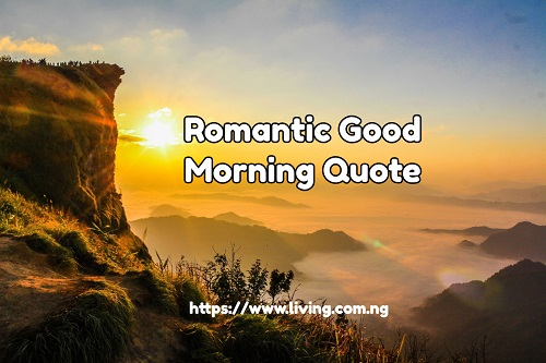 Romantic Good Morning Quote