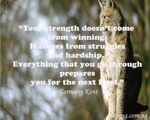 Strenght quote