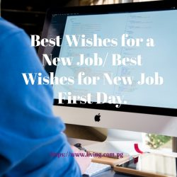 Wishes for a new job