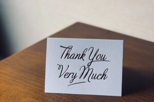 Thank You for Being There When I Need You Quote