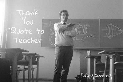 Thank You Quote to Teacher