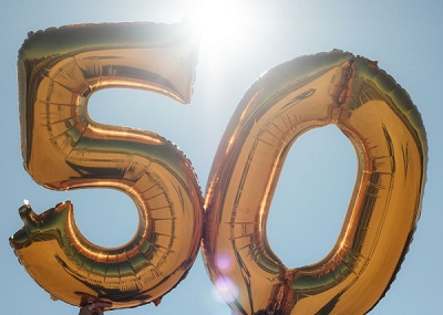 50th Birthday Captions and Quotes for Friends